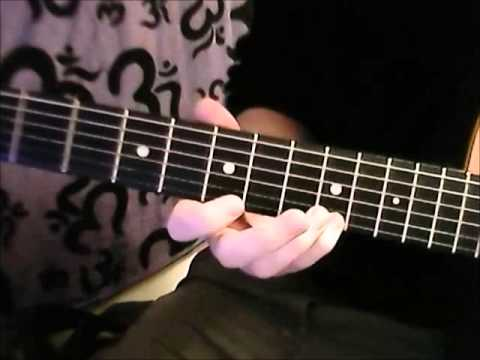 Diminished Gypsy Jazz Lick For Minor Swing
