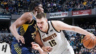 Denver Nuggets vs Indiana Pacers - Full Game Highlights | March 24, 2019 | 2018-19 NBA Season