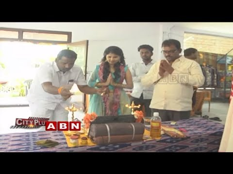 Handloom Ikat Mela Launch at Narayana Reddy Gardens | Hyderabad | ABN Telugu