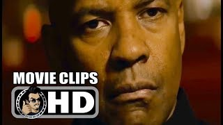 THE EQUALIZER Clips + Retro Trailer (2014) Denzel Washington Movie HD