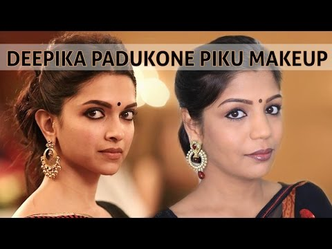 Deepika Padukone Piku 2015 Makeup Tutorial | Celebrity Inspired Makeup