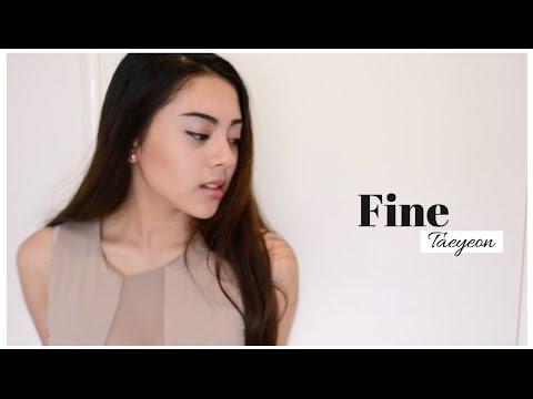 TAEYEON (태연) Fine | [English Cover]