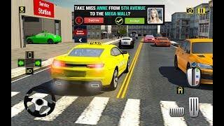 Rush Hour Taxi Cab Driver: NY City Cab Taxi Game New Android Gameplay
