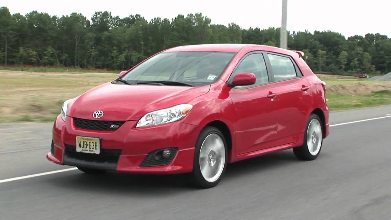 2010 Toyota Matrix Xrs Youtube