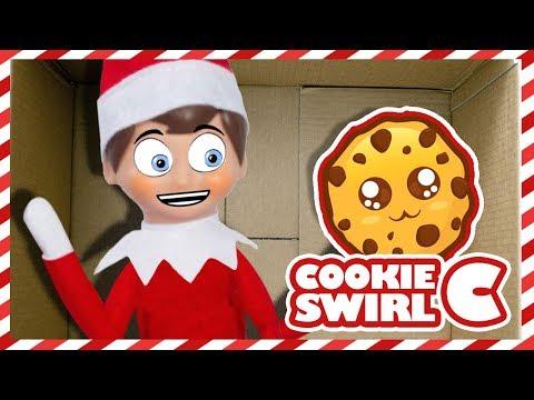 ELF ON THE SHELF 🎄I Mailed Myself to Cookie Swirl C