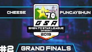CLG cheese vs puncayshun | PACE2019 Grand Finals Race 2 | GSA SM64 70 Star League D1 Season 1