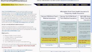 Affordable Rates Short Term Health Insurance - It Is Affordable?