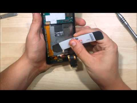 Sony Xperia Z Screen Replacement - Disassembly