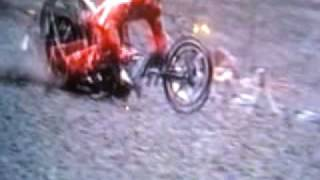 Destroyed in Seconds Bike Accident