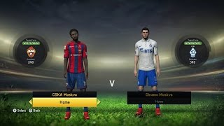 FIFA 15 - Russian Premier League Ratings & Kits (PS4/Xbox One)