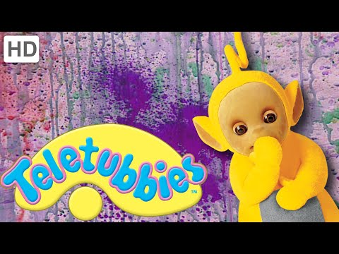 Teletubbies: Spray Paint Mural - Hd Video video