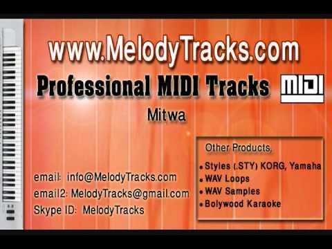 Mere man ye bata de tu (Mitwa) MIDI - www.MelodyTracks.com