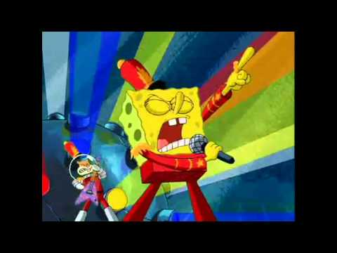 Spongebob Sings Boulevard Of Broken Dreams