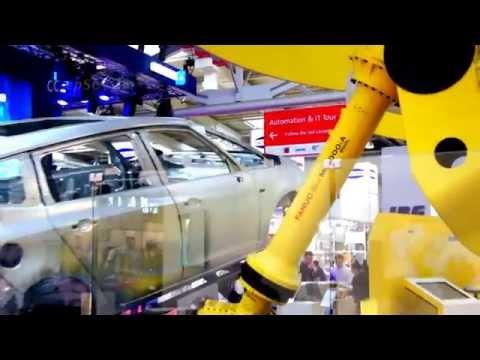 Fanuc Robot lifting Car Body for Fun