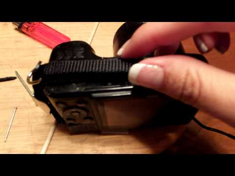 How to Cheaply Repair Nikon Coolpix L100 Battery Door