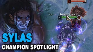 Ultimates klauen!? | Sylas Champion Spotlight [PBE] [Deutsch]