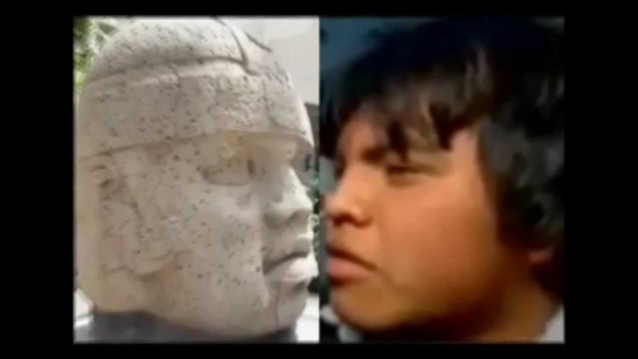 the olmec faces are black african  debunked