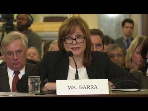 Senators Press Barra About GM's Delay in Recall
