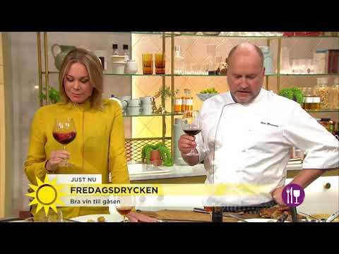 """""""Det är roligt att gaska upp sig och äta gås en gång per år"""" - Nyhetsmorgon (TV4)"""
