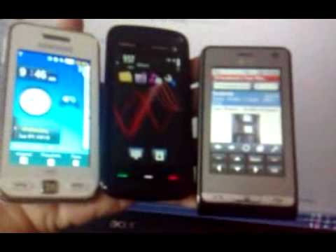LG KU990 / Nokia 5800 / Samsung Star wifi s5233w (TOUCHSCREEN) Kikomi