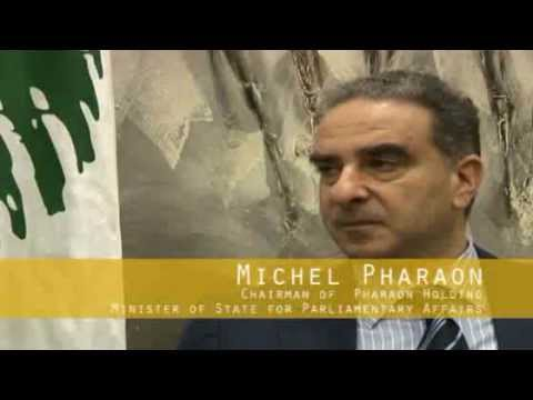 Lebanon Economic Environment by Michel Pharaon