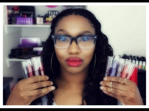 *NEW* NYX Simply Vamp, Red & Nude Lip Creme Collection