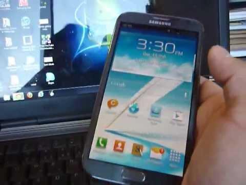 Primeiras impressões sobre o Samsung Galaxy Note 2 GT N7100
