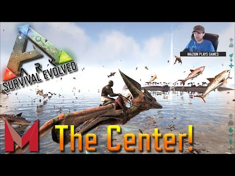 UNDERWATER AIR BUBBLES ON THE CENTER - ARK: SURVIVAL EVOLVED GAMEPLAY - S4E7