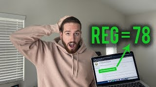 "How to Pass REG CPA Exam with a ""78"" in 20 Days! **First Try**"
