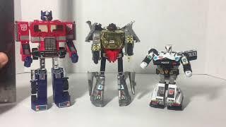 Transformer G1 Dinobot Grimlock Review
