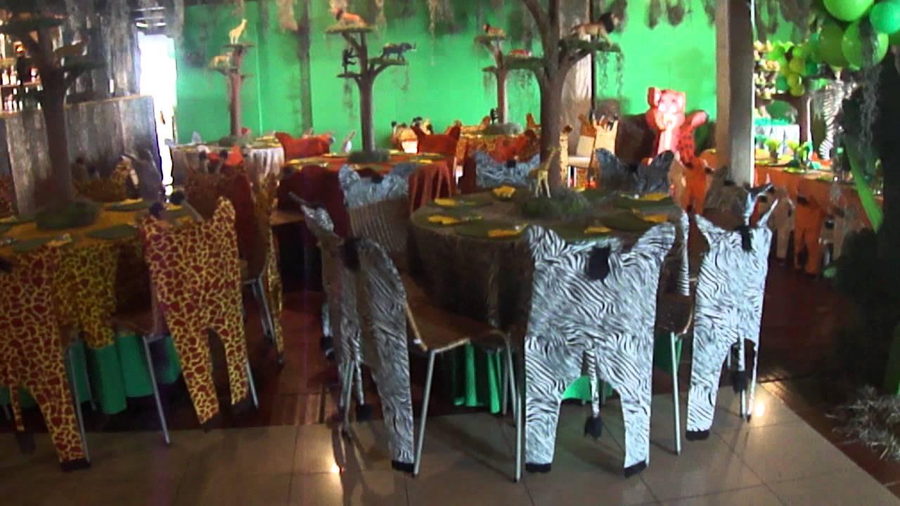 Fiesta tematica safari salome 6 a itos mesas adultos mp4 - Fiestas tematicas para adultos ...