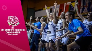 Slovenia v Portugal - Final - Full Game - FIBA U16 Women's European Championship Division B 2019