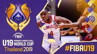 Canada v Mozambique - Full Game - FIBA U19 Women's Basketball World Cup 2019