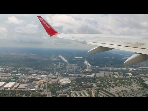 Air Berlin AB8352 737-800 Berlin Tegel - Moscow Domodedovo Safety, Takeoff & Landing