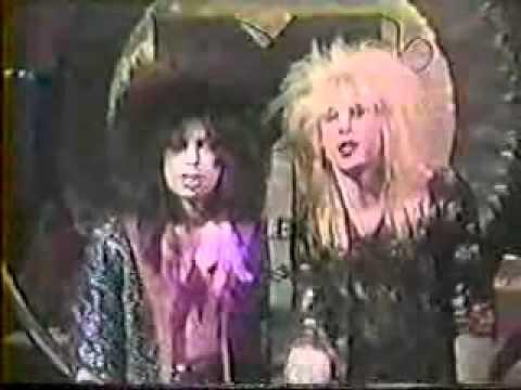 1987 - MTV Heavy Metal Half-Hour with Vinnie Vincent - Part 1