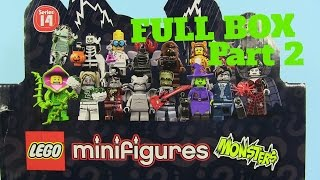 Lego Monsters Minifigures Series 14 Full Box Unboxing Part 2 | PSToyReviews