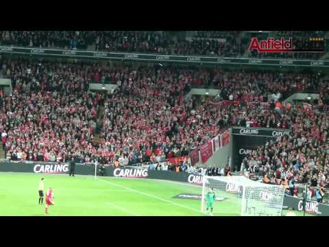 Carling Cup Final 2012 - Cardiff vs Liverpool - Penalty Shootout (Amateur Footage) (HD)