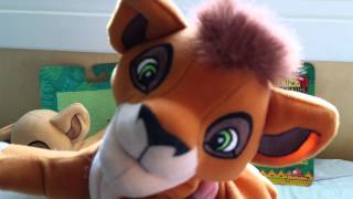 The Lion king 2 Simbas pride Kiara Kovu plushies