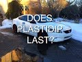 How well does plastidip hold up mp3