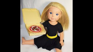 DIY Pizza for Wellie Wishers & American Girl dolls