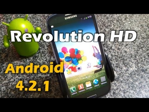 ROM Android Revolution HD 30.4 Samsung Galaxy S3 [Review]