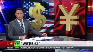 China overtakes US as world's largest economy