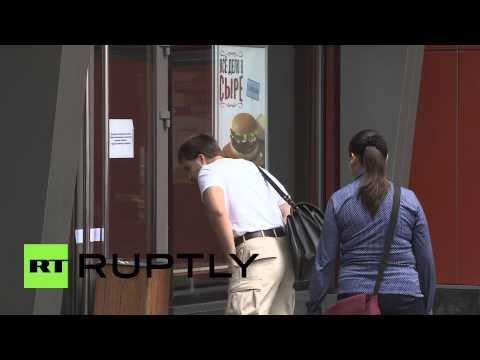 Russia: Russia's first ever McDonalds shut down by watchdog