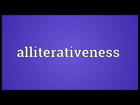 Header of alliterativeness