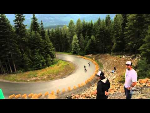 Whistler Longboard Festival 2012 - Cable Cam - Part 2