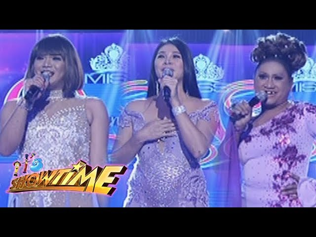 It's Showtime Miss Q & A: Candidates with their 'RamPanalo' attire
