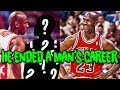 How Michael Jordan ENDED a Man's Career with 3 Words