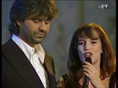 … Andrea Bocelli   Judy Weiss  –  Vivo Per Lei