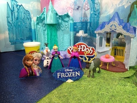 Disney Frozen Princess Anna and Queen Elsa Light Castle and Ice Palace Disney Frozen Playset Toy