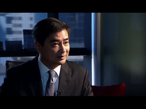 Abhisit Vejjajiva - Thailand 'government has not respected the law'  - BBC News
